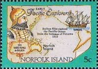 Norfolk Island 1994 Pacific Explorers SG 562 Fine Mint