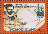 Norfolk Island 1994 Pacific Explorers SG 569 Fine Mint