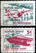 Norfolk Island 1999 Aircraft Set Fine Used
