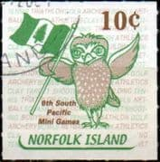 Norfolk Island 2001 South Pacific Mini Games SG 777 Fine Used