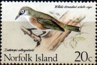 Norfolk Island Birds SG 112 Fine Mint