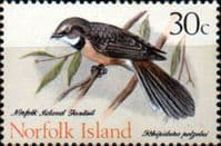 Norfolk Island Birds SG 114 Fine Mint