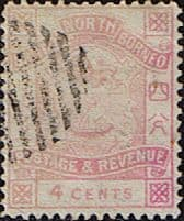 Stamps Stamp North Borneo 1888 Postage and Revenue Fine Used SG 40 Scott 39