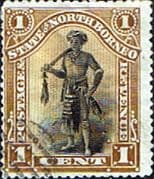 North Borneo 1894 SG 66 State Issue Fine Used
