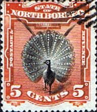Stamp Stamps North Borneo 1894 State Issue Fine Used SG 72 Scott 62
