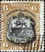 North Borneo 1894 SG 73 State Issue Fine Used