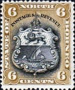 North Borneo 1894 SG 73c State Issue Good Mint