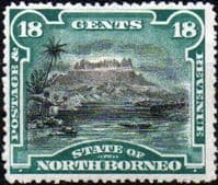 North Borneo 1894 SG 78 State Issue Fine Mint