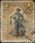 North Borneo 1897 SG 92 State Issue Good Used