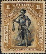 North Borneo 1897 SG 92a State Issue Fine Used