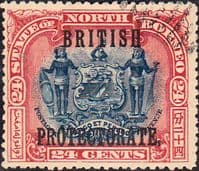 North Borneo 1901 SG 138 British Protectorate Overprint Fine Used