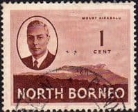 North Borneo 1950 SG 356 King George VI Fine Used