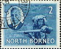 North Borneo 1950 SG 357 King George VI Fine Used