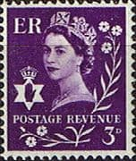Northern Ireland 1958 Queen Elizabeth SG NI 1p Fine Mint