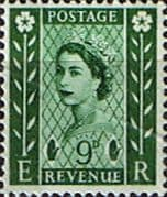 Northern Ireland 1958 Queen Elizabeth SG NI 4 Fine Mint