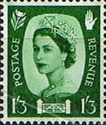 Northern Ireland 1958 Queen Elizabeth SG NI 5 Fine Mint