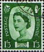 Northern Ireland 1958 Queen Elizabeth SG NI 5 Fine Used