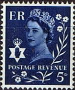 Northern Ireland 1968 Queen Elizabeth SG NI10 Fine Mint