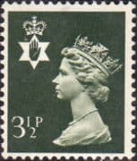 Northern Ireland 1971 Queen Elizabeth Machin SG NI 15 Fine Mint