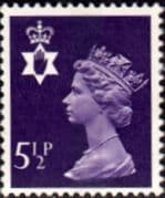 Northern Ireland 1971 Queen Elizabeth Machin SG NI 19 Fine Mint