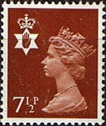 Northern Ireland 1971 Queen Elizabeth Machin SG NI 23 Fine Mint