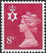 Northern Ireland 1971 Queen Elizabeth Machin SG NI 24 Fine Mint