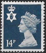 Northern Ireland 1971 Queen Elizabeth Machin SG NI 39 Fine Used