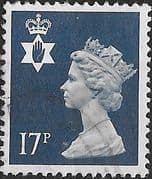 Northern Ireland 1971 Queen Elizabeth Machin SG NI 44 Fine Used
