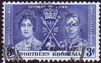 Northern Rhodesia 1937 Coronation SG 24 Fine Used