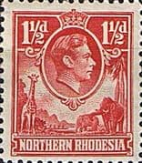 Northern Rhodesia 1938 Animals SG 29 Fine Mint
