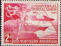 Northern Rhodesia 1949 Universal Postal Union SG 50 Fine Mint