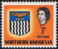 Northern Rhodesia 1963 Coat of Arms SG 78 Fine Mint