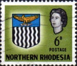 Northern Rhodesia 1963 Coat of Arms SG 80 Fine Used