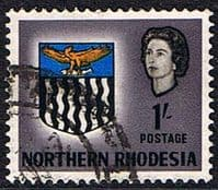 Northern Rhodesia 1963 Coat of Arms SG 82 Fine Used
