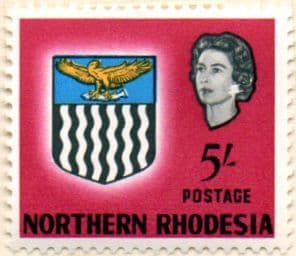 Northern Rhodesia 1963 Coat of Arms SG 86 Fine Mint