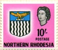 Northern Rhodesia 1963 Coat of Arms SG 87 Fine Mint