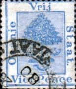 Orange Free State 1878 SG 19 Orange Tree Fine Used
