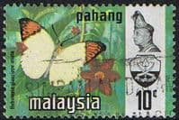 Pahang 1971 Butterflies SG 100 Fine Used