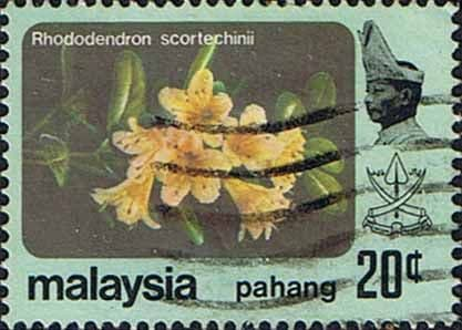 Pahang 1979 Flowers SG 116 Fine Used