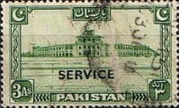 Pakistan 1948 Official SERVICE SG O20 Fine Used