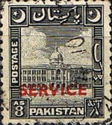 Pakistan 1948 Official SERVICE SG O22 Fine Used
