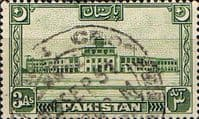 Pakistan 1949 SG 47 Redrawn Crescent Moon Fine Used