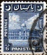 Pakistan 1949 SG 48 Redrawn Crescent Moon Fine Used