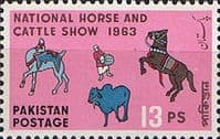 Pakistan 1963 National Horse and Cattle Show SG 183 Fine Mint