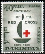 Pakistan 1963 Red Cross Centenary Fine Mint