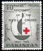 Pakistan 1963 Red Cross Centenary Fine Used