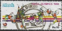 Pakistan 1988 Olympic Games SG 748 Fine Used