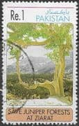 Pakistan 1993 Save the Juniper Forest SG 907a Fine Used