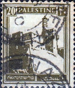 Palestine 1927 SG  99 British Mandate to League of Nations Fine Used