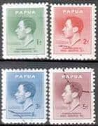 Papua 1937 King George VI Coronation Set Fine Used